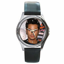 Actor Kevin Cheng handsome hottie leather watch