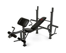 Marcy Diamond Elite Classic Multipurpose Home Gym Workout Weight Bench | MD389