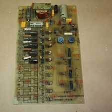 C Thomas Electronic TM11 4 Pulse Reverse Pulse Filter Card