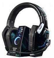 Tritton Warhead 7.1 Black Headband Headsets for Microsoft Xbox 360 *USED*