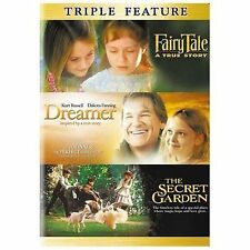 Fairytale: True Story / Dreamer: Inspired by a True Story /The Secret Garden DVD