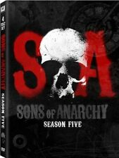 DVD Sons of Anarchy: Season Five (DVD, 2013, 4-Disc Set) TV DRAMA