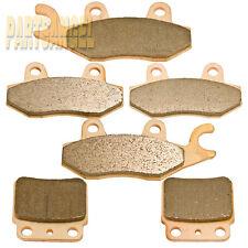 F+R Sintered Brake Pads 2006-2011 2007 2008 2009 2010 SUZUKI LT-R 450 K LTR450