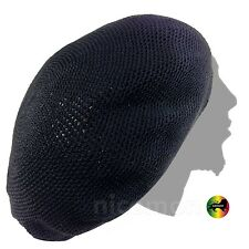 Roots Rasta Nattydread Dreadlocks Tams Crochet Beret Cap Hat Rastafari XL to XXL