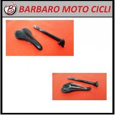 SELLA SELLE ITALIA CARBON FIBRE + TUBO SELLA IN CARBONIO DIAMETRO 27,2 CORSA MTB