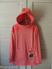 NORTH FACE SNOWCONE RED DYNAMIX HOODIE FLEECE TRAINING JACKET, SIZE M ~NWT