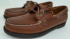Rockport Men's Size 8 M Brown Leather 2 Eye Casual Deck Boat Shoes MR 5178 EUC