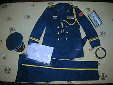 07's series China PLA Air Force Senior Colonel Officer Full Dress,Set