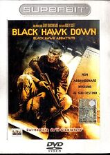 BLACK HAWK DOWN di Ridley Scott DVD Superbit Digipack FILM SEALED