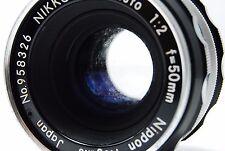 Nikon NIKKOR-H Auto 50mm F2 Non-AiLens SN958326