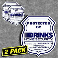 BRINKS HOME SECURITY | sticker pmag magpul burglar alarm window sign decal ar15