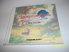 Legend of Mana Playstation 1 PS1 Original Soundtrack Music CD Promo BUY IT NOW