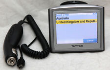TomTom One GPS Navigation With Latest 2016 Australia, UK, Ireland & France Maps