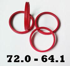 4 X 72,0 - 64,1 LEGA Anelli zipolo ruote Centrici EVITARE VIBRAZIONI HONDA