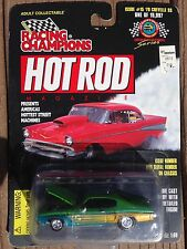 Racing Champions Hot Rod Magazine #015 '70 Chevelle SS-green/gold/blue