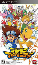 New PSP Digimon Adventure Japan import