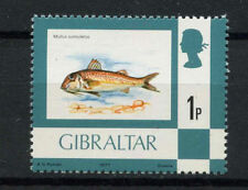 Gibraltar 1977-82 SG#375, 1p Fish Definitive MNH #A77677