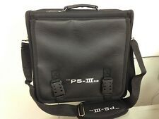 Travel Carry Case Bag for Slim PS3 Playstation 3 Console Shoulder Carrying Black