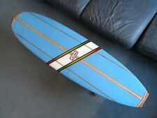 Original Bud Gardner Longboard Surfboard Coffee Table