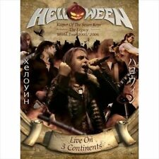 HELLOWEEN -NLIVE ON 3 CONTINENTS 2 X DVD/ 2 X CD