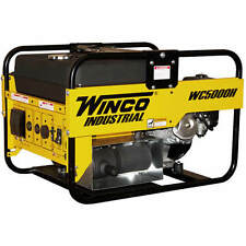 Winco WC5000H - 4500 Watt Portable Generator w/ Honda Engine