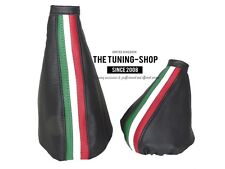 FOR ALFA ROMEO GTV SPIDER GEAR HANDBRAKE GAITER LEATHER ITALIAN COLOURS ///