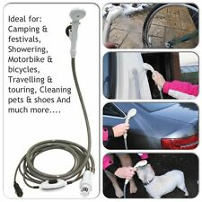 Streetwize 12V Portable Shower System For Caravan Motorhome RV Camping Festivals