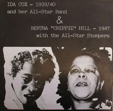 IDA COX All-Star Band BERTHA Chippie HILL All-Star Stompers 1939-40/1947 LP MINT