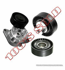 ALTERNATOR TIMING BELT TENSION TENSIONER IDLER GUIDE PULLEY fr BMW E36 E46 SET 3