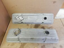 VINTAGE WEIAND SBC SMALL BLOCK CHEVY ALUMINUM VALVE COVERS