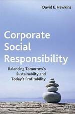 Corporate Social Responsibility: By Hawkins Hardback Book