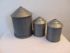 1/64 Ertl Farm Country grain bins lot of 3