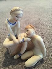 "VINTAGE 1986 ROYAL DOULTON REFLECTIONS - ""BALLET CLASS""  FIGURINE"