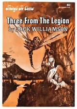 3 FROM THE LEGION by Jack Williamson - Science Fiction Book Club THINGS TO COME