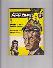 Amazing Stories Fact and Science Fiction July 1964 Pulp Daniel Galouye