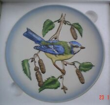 Goebel Collectors Plate In Bas Relief 3D Style THE BLUE TITMOUSE