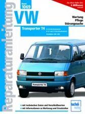 WERKSTATTHANDBUCH REPARATURANLEITUNG 1069 VW VOLKSWAGEN TRANSPORTER T4