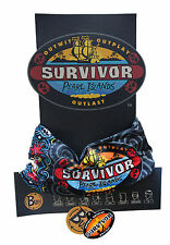 SURVIVOR BUFFS : Pearl Islands Original BLACK Balboa Tribe Buff - NEW on DISPLAY