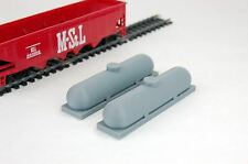 PROPANE GAS TANK (SET OF 2 ) 1/87 HO SCALE BONMO 87004