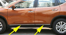 Body Door Sill Side Molding cover trim for 2014-2016 Nissan X-Trail Rogue 4pcs