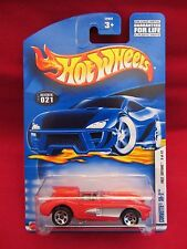 Hot Wheels 2002-021 First Editions  Corvette SR-2  Red 1:64 scale (2)  52942