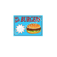 BURGER STICKER for catering trailer
