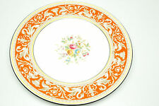 Wedgwood Florentine W2138 RARE Coral Color Dinner Plate/s 10.5""