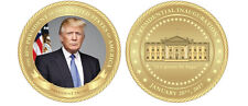 "PRESIDENT DONALD TRUMP  INAGURATION COIN IT'S GONNA BE HUGE 1.75"" CHALLENGE COIN"