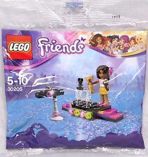 Lego Friends Promo Polybag 30205 Popstar Roter Teppich Andrea Bühne RAR NEU