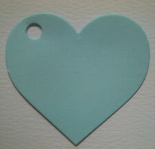 50 Vintage Style Heart Shape Card Blank Tags, Wedding Favour, Bags & Boxes