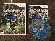 Sonic And The Black Knight Wii Game! Complete! Look In The Shop!