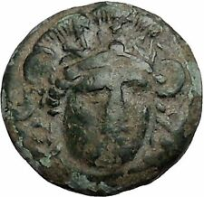 SIGEION in TROAS Athens Colony 355BC Athena Facing Owl Ancient Greek Coin i56078