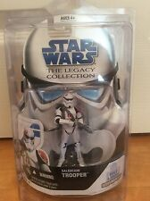 Star Wars The Legacy Collection Saleucami Trooper Action Figure MOC & Star Case