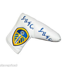 NEW LEEDS UTD FC GOLF, BLADE PUTTER COVER + MARKER